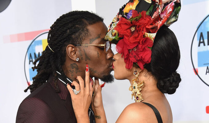 Offset, Cardi B share a kiss