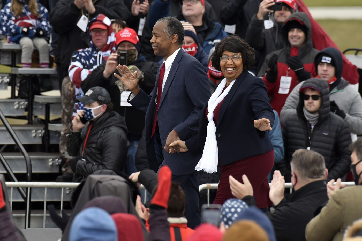 Ben Carson with wife, Candy Carson