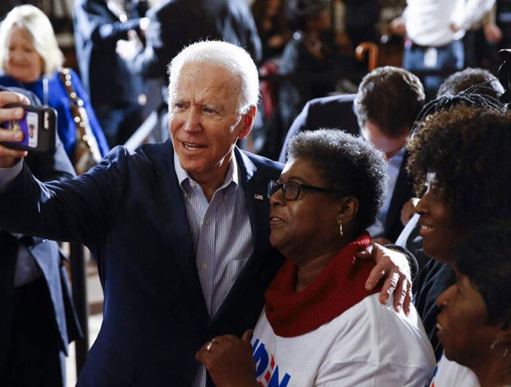 Joe Biden & Supporter
