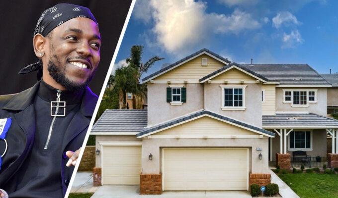 Kendrick Lamar - Eastvale home