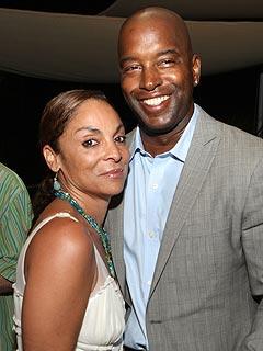 Jasmine Guy with ex-husband Terrence Mitchell Duckett