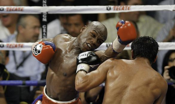 Floyd Mayweather faces off against Juan Manuel Marquez in his first fight since retiring from boxing last year