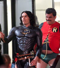Russell Brand Is Batman & Potbellied Luis Guzman Is The Boy Wonder