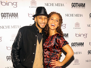 Swizz Beatz, Alicia Keys.