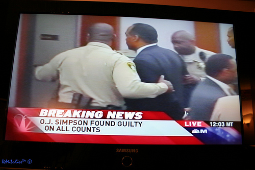 O.J. Found Guilty